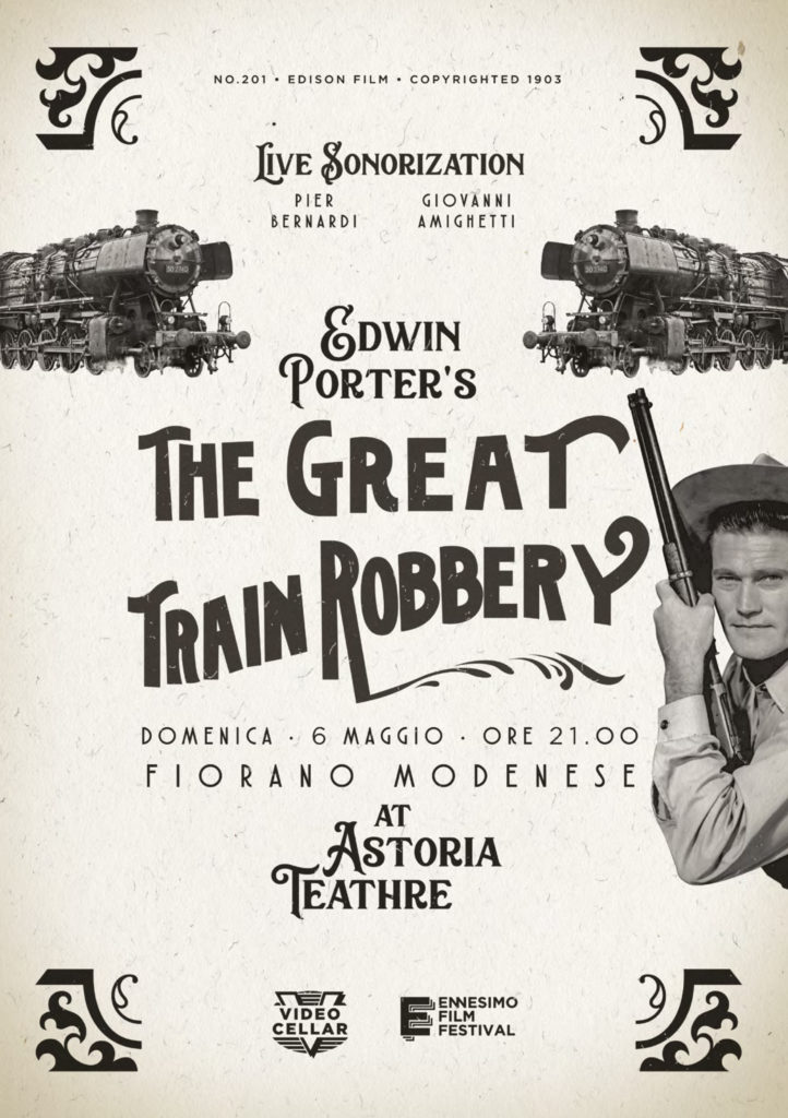 SONORIZZAZIONE LIVE - THE GREAT ROBBERY - ENNESIMO SHORT TRACK