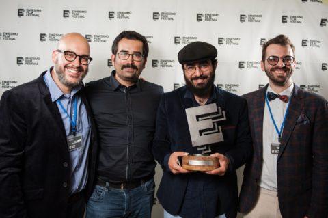 Mohammed Faharani ritira il premio artemisia ennesimo film festivla 2018