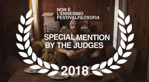 Again Special Mention by the Judges 2018 - ennesimo festivalfilosofia