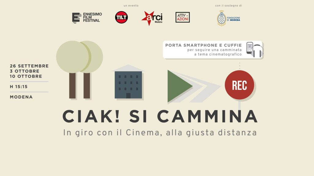 ciak si cammina tour cinematografico a piedi modenacinema lovers